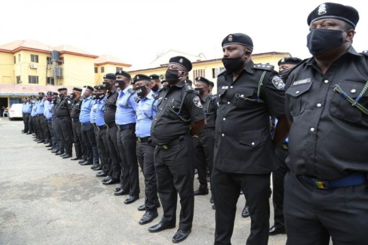 Disbanded SARS being debriefed in Lagos - See Faces Of Disbanded SARS Officials (Photos)