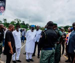 FB IMG 1602675252979 - Akeredolu Condoles Police, Families Of Officers Who Died In Ondo