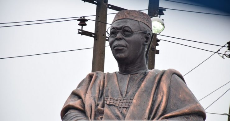 Past Heros Unspared As Looters Fail To Return Awolowo's Glasses