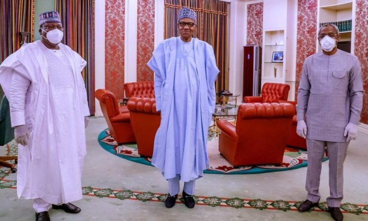 #EndSARS: Details Of Buhari's Meeting With Lawan, Gbajabiamila Emerge