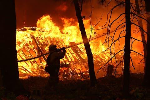 Two Die In Algeria Wild Fire