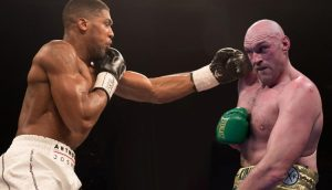 Anthony Joshua, Tyson Fury Sign Unification Contract