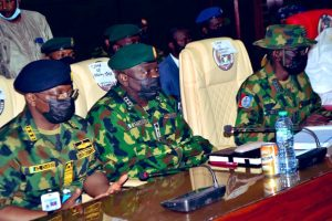 Insecurity: Irabor Leads Service Chiefs To Ibadan