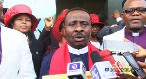 CAN President of Nigeria Reverend Samson Ayokunle