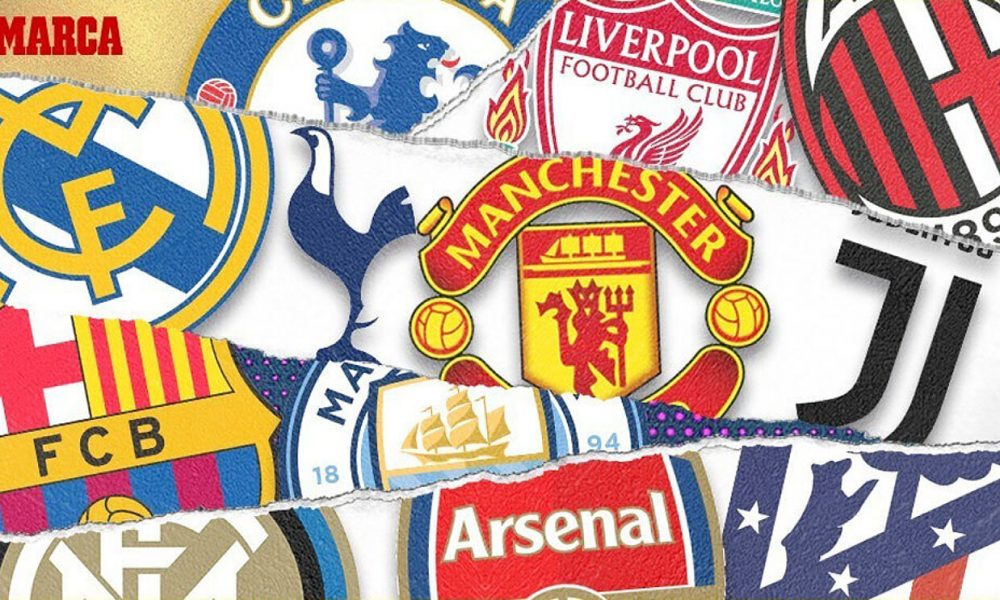 Full List: 12 Top Football Clubs Break Away From UEFA, Announce New Super League