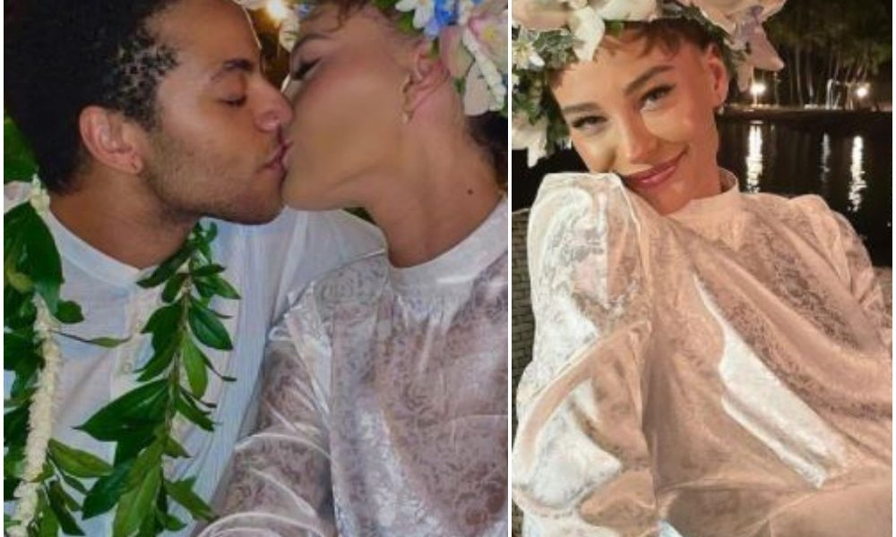 Sade Adu's Transgender Son, Izaak Ties The Knot With The Love Of His Life, Emily  Photos