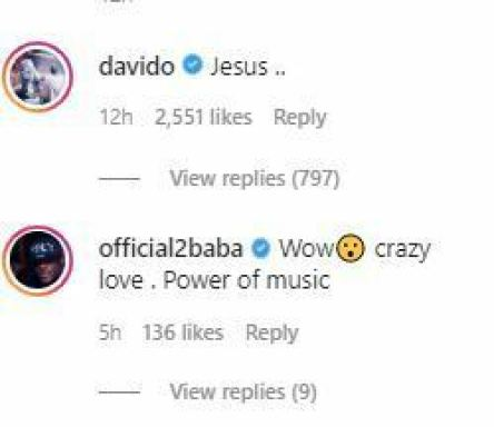 2Face Idibia Reacts As Die-Hard Female Fan Tattoos Naira Marley's Face On Her Butt  Photos