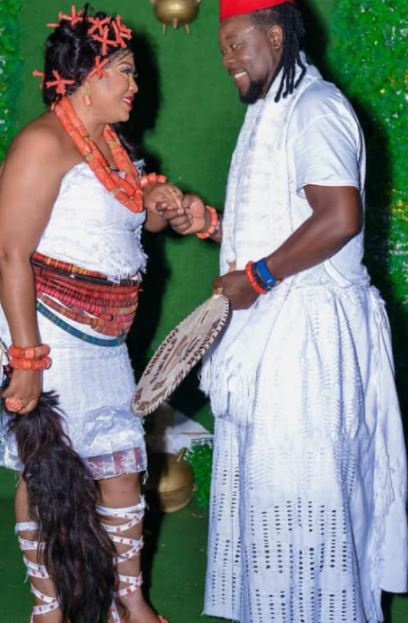 According to reports, an insider also confirmed that her Daughter Regina Daniels is not supporting the marriage, and she didn't attend the traditional wedding.