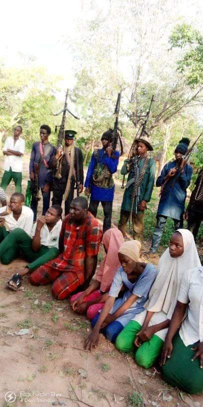 Bandits Release Pictures Of Abducted Kebbi Teachers, Students