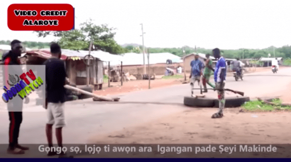 Herdsmen Attack: Igangan Youths Patrol With Guns After Killings [Photos]