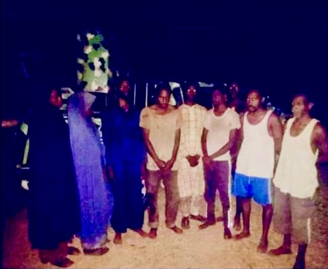 BREAKING: Bandits Release Kaduna Students, Staff Members [Photo]