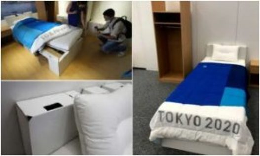 Olympics: Officials Install Cardboard Beds To Discourage Athletes From Having Sex
