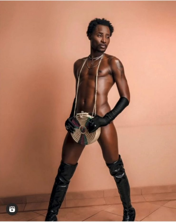 Gay Activist, Bisi Alimi Strips Down In New Jaw-dropping Photos