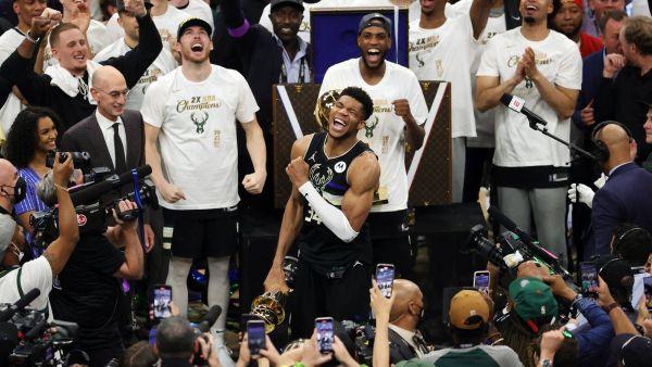 Antetokounmpo Heroic As Bucks Beat Suns To Win 1st title
