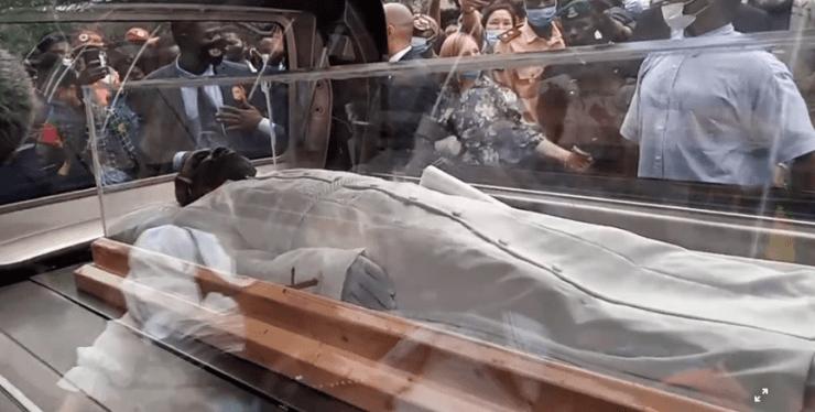 Prophet TB Joshua Buried In Synagogue Church