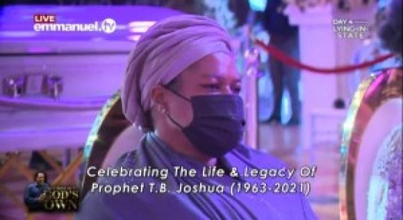 SCOAN Members Pay Last Respect To TB Joshua (Photos)