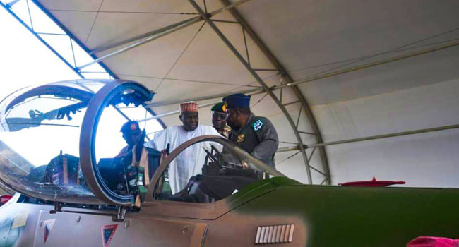 BREAKING: Nigeria Receives First Batch Of A-29 Super Tucano Aircraft [Photos]