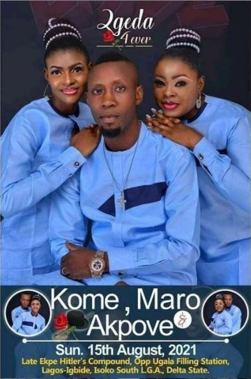 Delta man set to wed two women same day.
