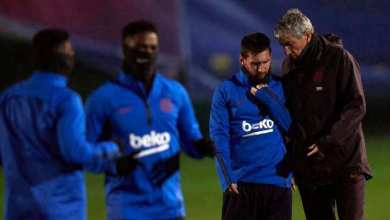 FC Barcelona: Quique Setién is already in a hurry to find tactical solutions - Naija News 247