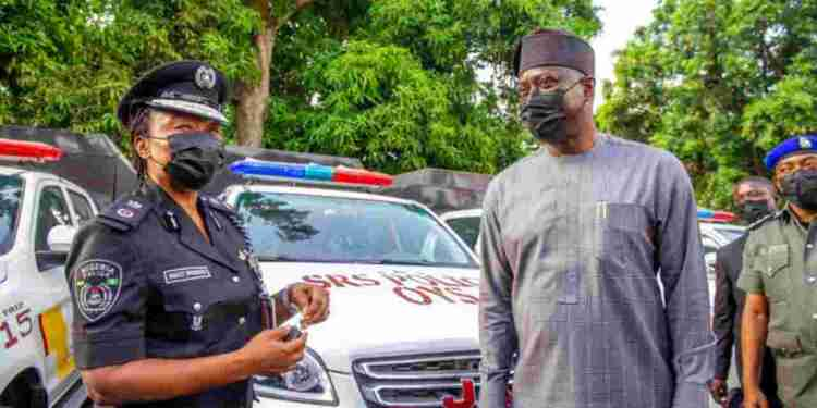 See Photos as Seyi Makinde Launches Joint Security Post To Curb Kidnapping in Oyo - Naija News 247