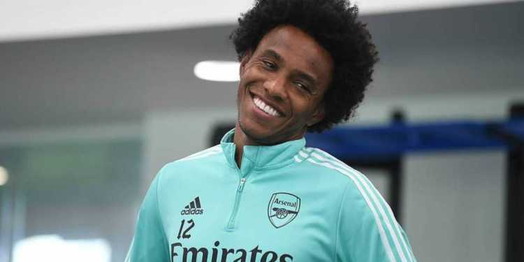 OFFICIAL: Willian leaves Arsenal by mutual consent - Naija News 247