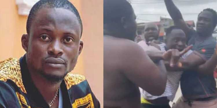 Yoruba actor, Jigan Babaoja escape being lynched by area boys while shooting comedy (Video) - Naija News 247