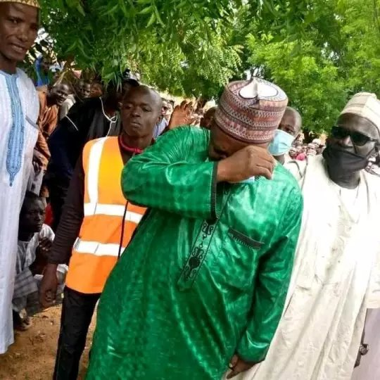 Report Of A Nigerian Lawmaker Shedding Tears In Public Is A Proof That He Cares For His People - Naija News 247
