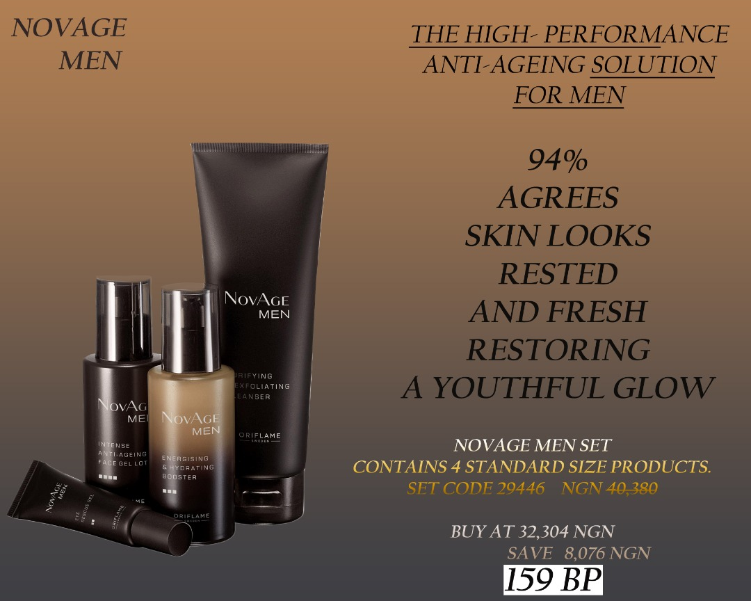 Lady Bianca Beauty Home Anti Aging Solution For Men