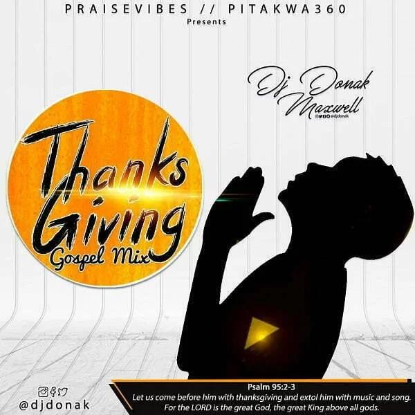 DJ Donak Thanksgiving Gospel Mix
