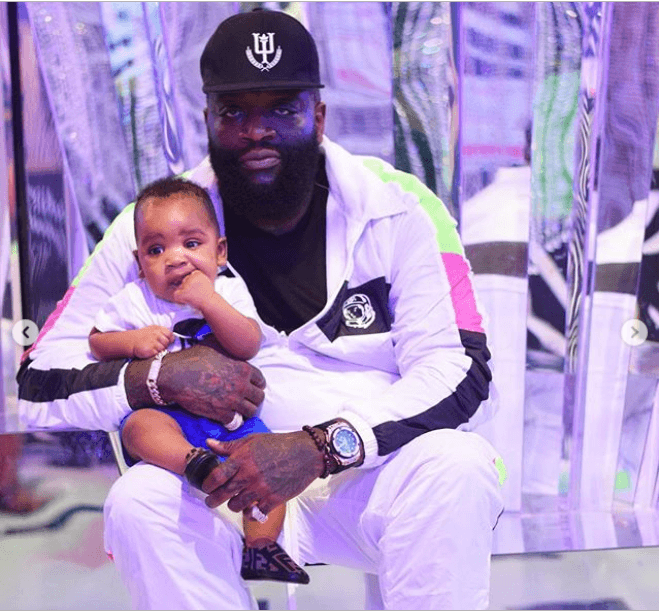 Adorable photos of Rick Ross, his girlfriend and their children