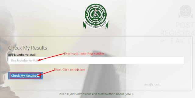JAMB 2019 Result Portal Enabled - Check Yours Online