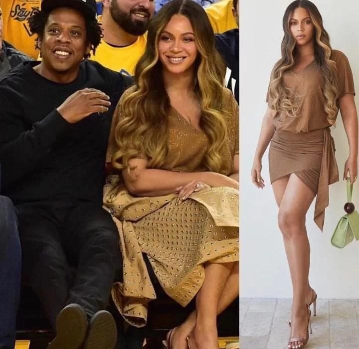 Beyonce goes nude …