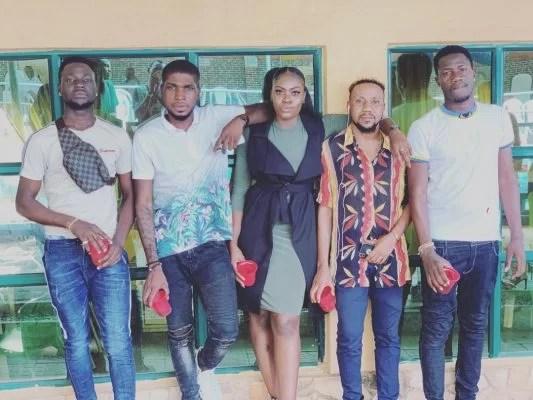 Roleola Olumide ( SOG) and friends