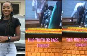 BBNaija 2019: Diane removes her panties before other housemates (video)