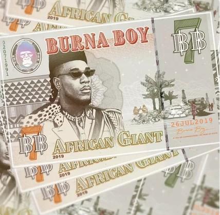 Burna Boy African giant full album download