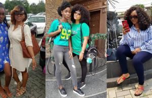 Mercy aigbe, daughter