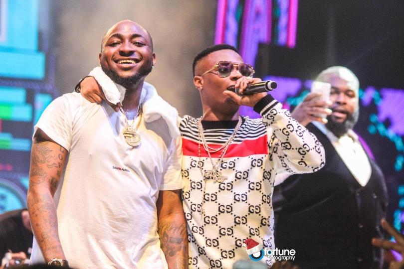 Image result for wizkid and davido