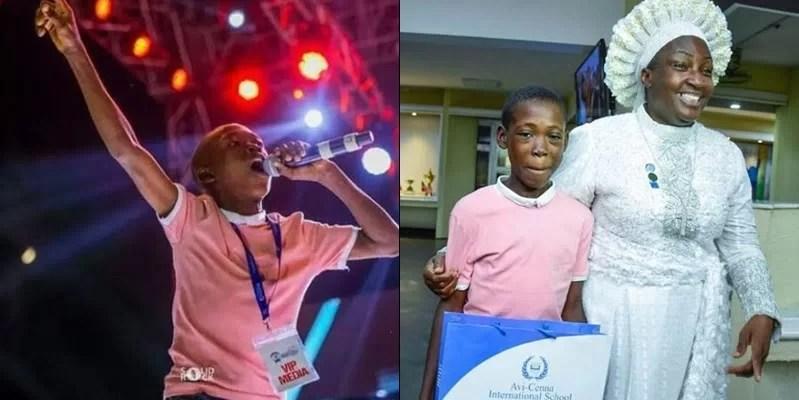 Viral Orange Seller And Singer, Ayomide Enrols In An International School