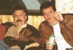 Drug lord Pablo Escobar's (left) with his former chief hitman Jhon Jairo 'Popeye' Velasquez