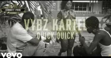 VIDEO: Vybz Kartel – Quick x3
