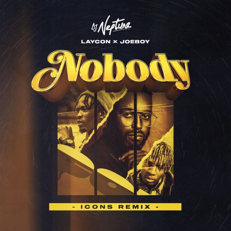 DJ Neptune ft. Laycon & Joeboy Nobody (Icon Remix)