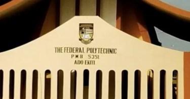Fed poly Ado-Ekiti protesting lecturers distort school activities
