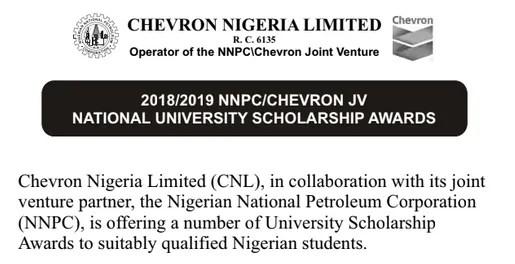 Application closing date for Chevron University