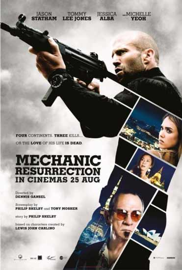 New Movie, Jason Statham in MECHANIC: RESSURECTION