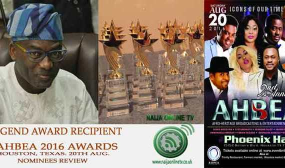 AHBEA 2016 Nominee, Dayo Adeneye, Legend Award Category