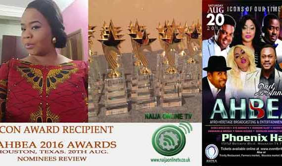 AHBEA 2016 Nominee, Bimbo Oshin, Icon Award Category