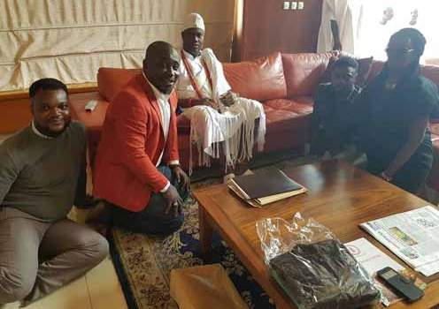 I LIVE TO SUPPORT HUMANITY - OONI OF IFE