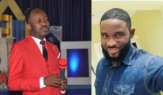 Apostle Johnson Suleman Blesses Actor Emma Blaq With Peugeot 206 Car, N1.6m