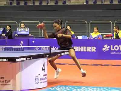 Nigerian Female Table Tennis Team Walked over in Morocco