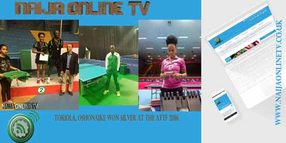 TORIOLA, OSHONAIKE WON SILVER AT THE ATTF 2016